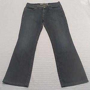 Express Sarula Womem Wide Leg Blue Jeans